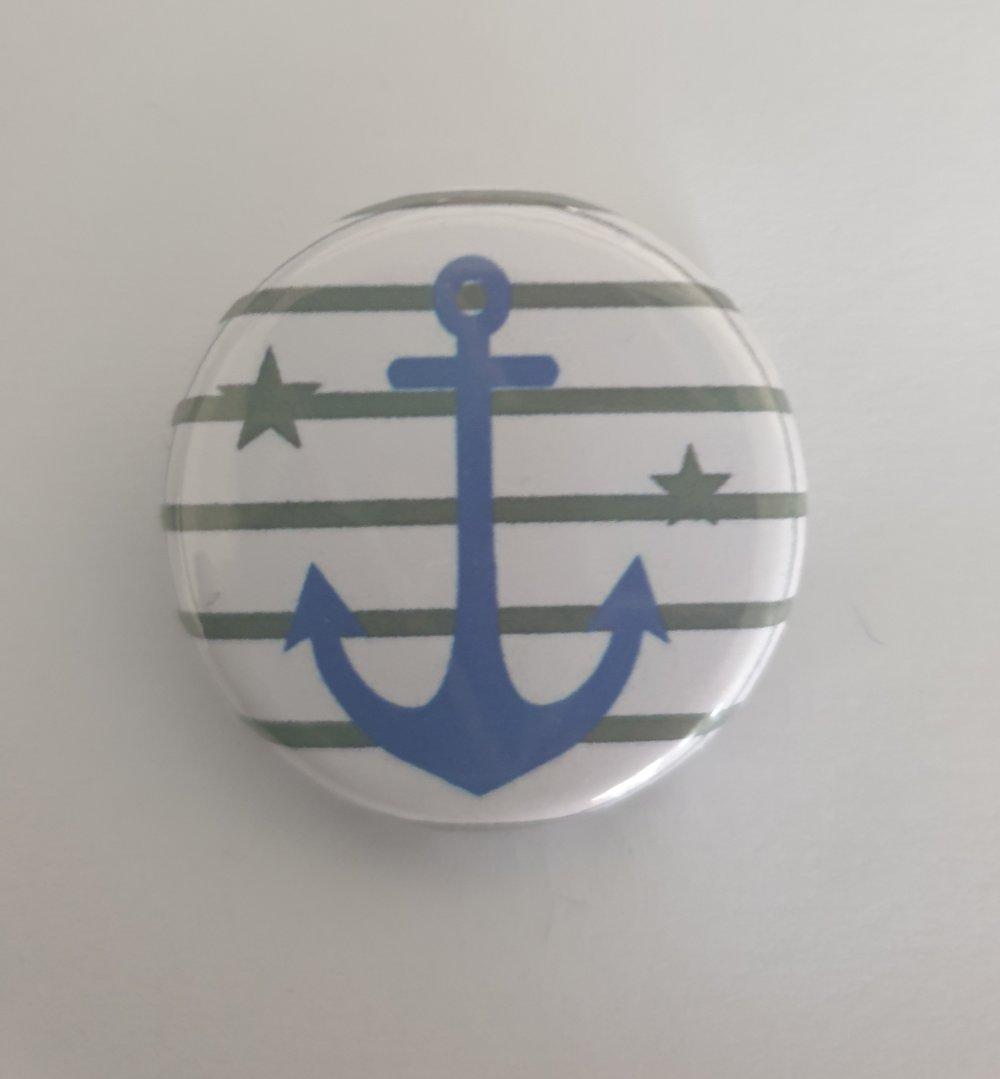 """Pochette """" prénom """" avec son badge"""