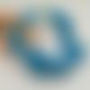 Bracelet fil mémoire turquoise