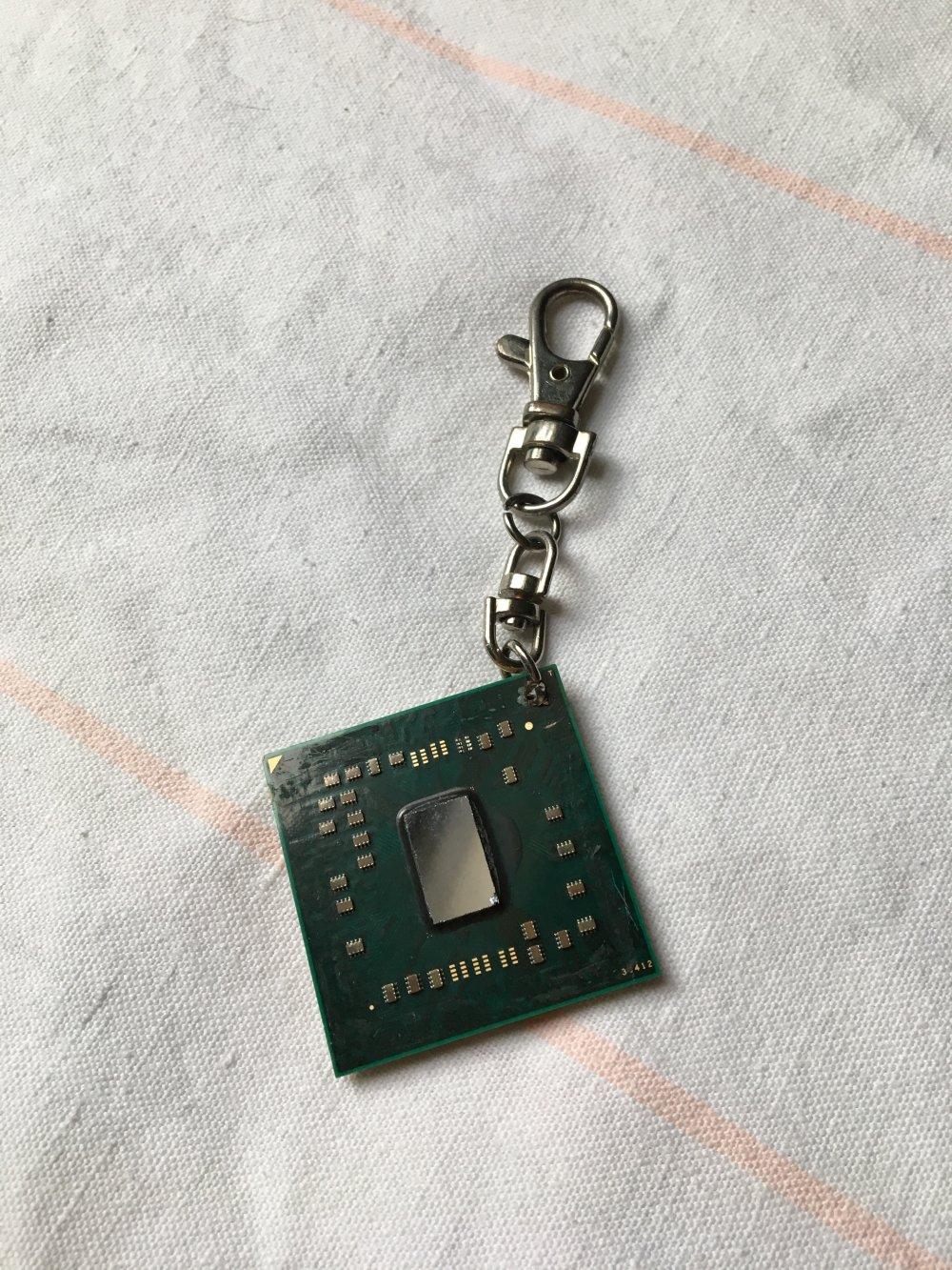 porte clé processeur pc