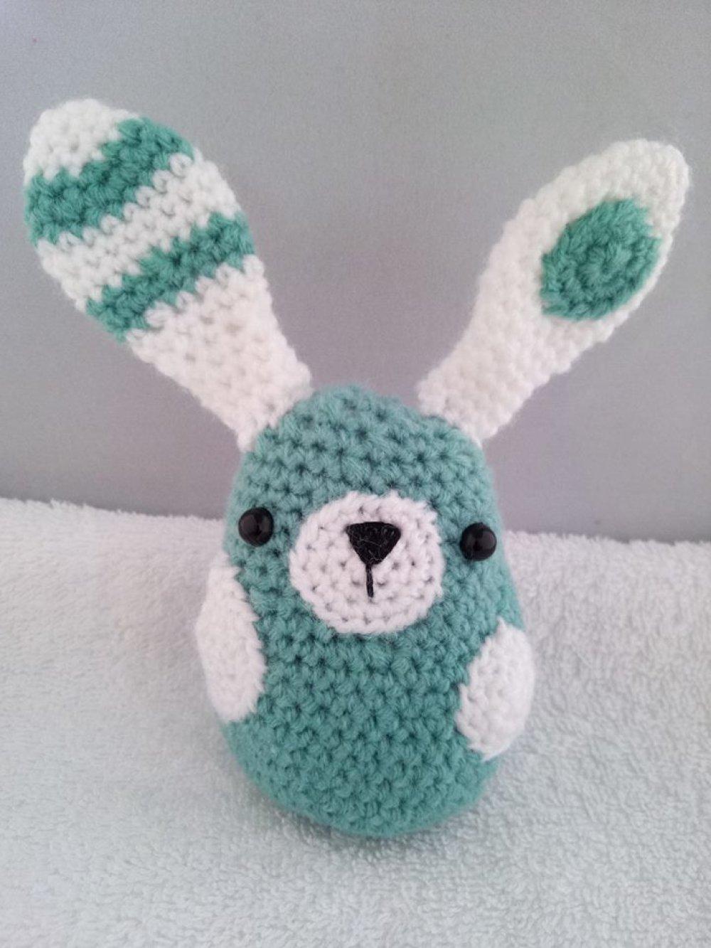 Petit lapin au crochet