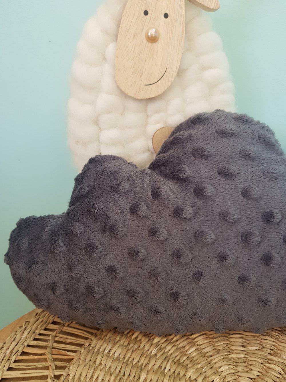 cousdi  nuage gris minky
