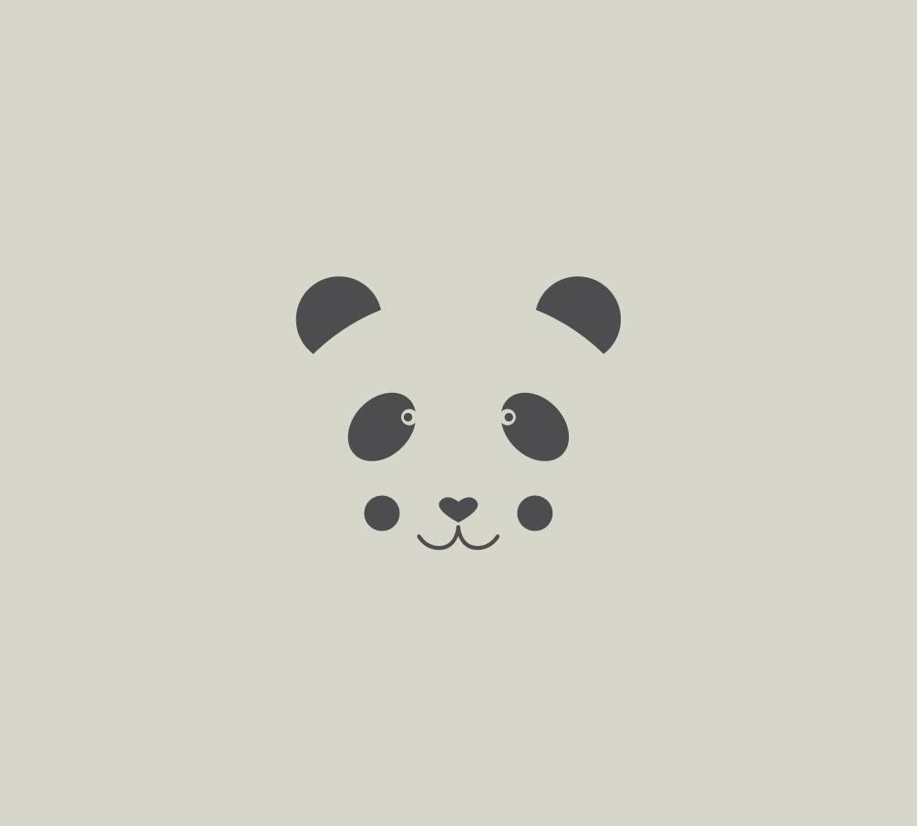 Pochoir Panda Dessin Panda Pochoir En Vinyle Adhésif Ref 563 1
