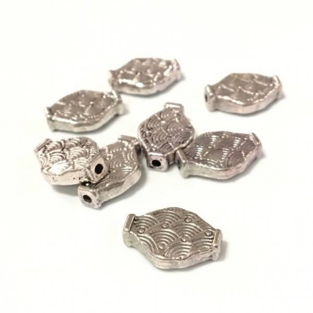 ❤X 100 perles metal intercalaire 14x10mm ❤