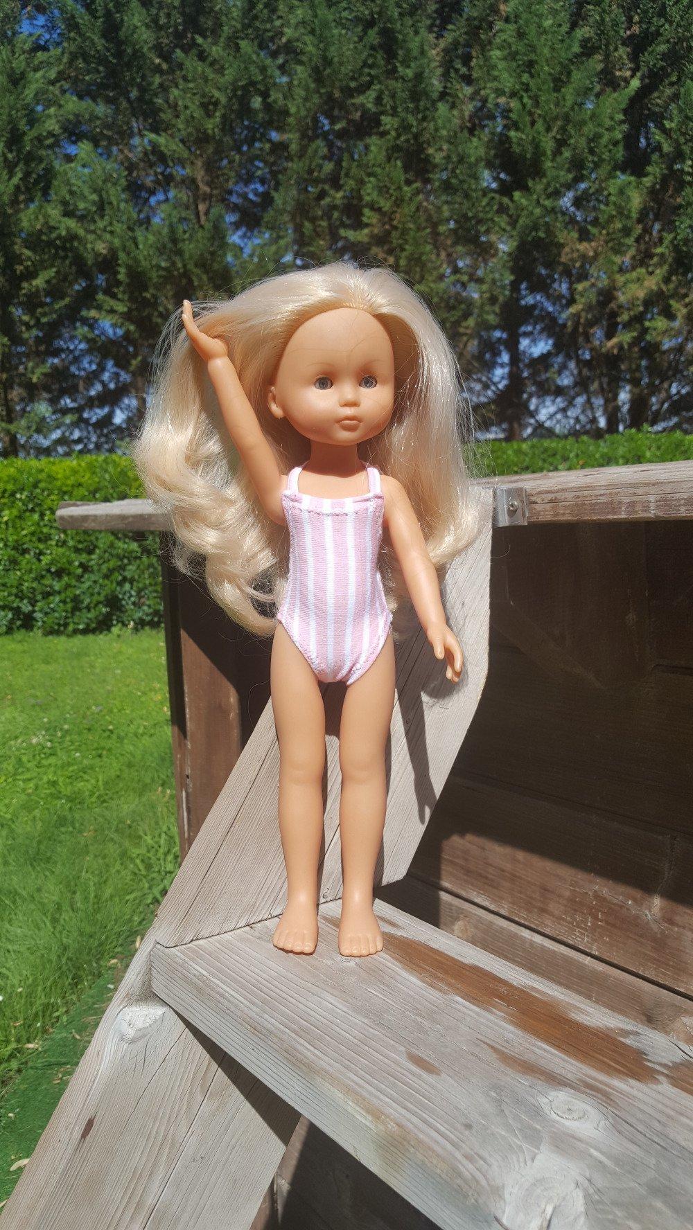 Vêtements poupées corolle chérie - Maillot de bain