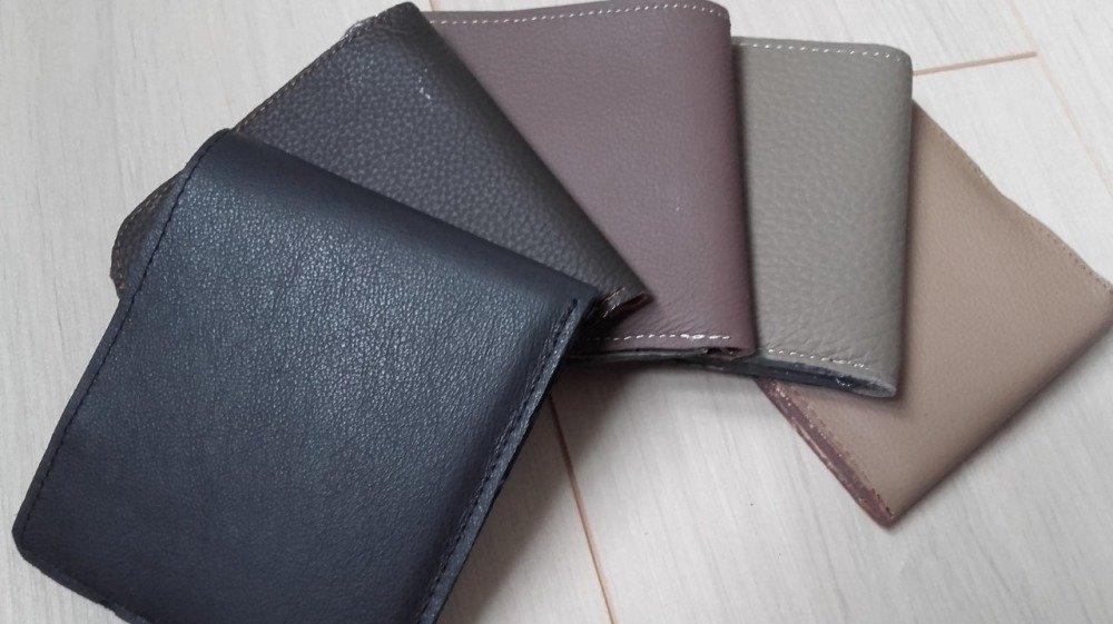 Portefeuille cuir compact homme coloris au choix, cadeau pour lui