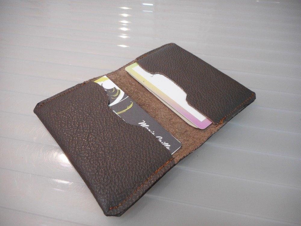 Porte carte cuir pour hommes coloris au choix, cadeau noël pour hommes.
