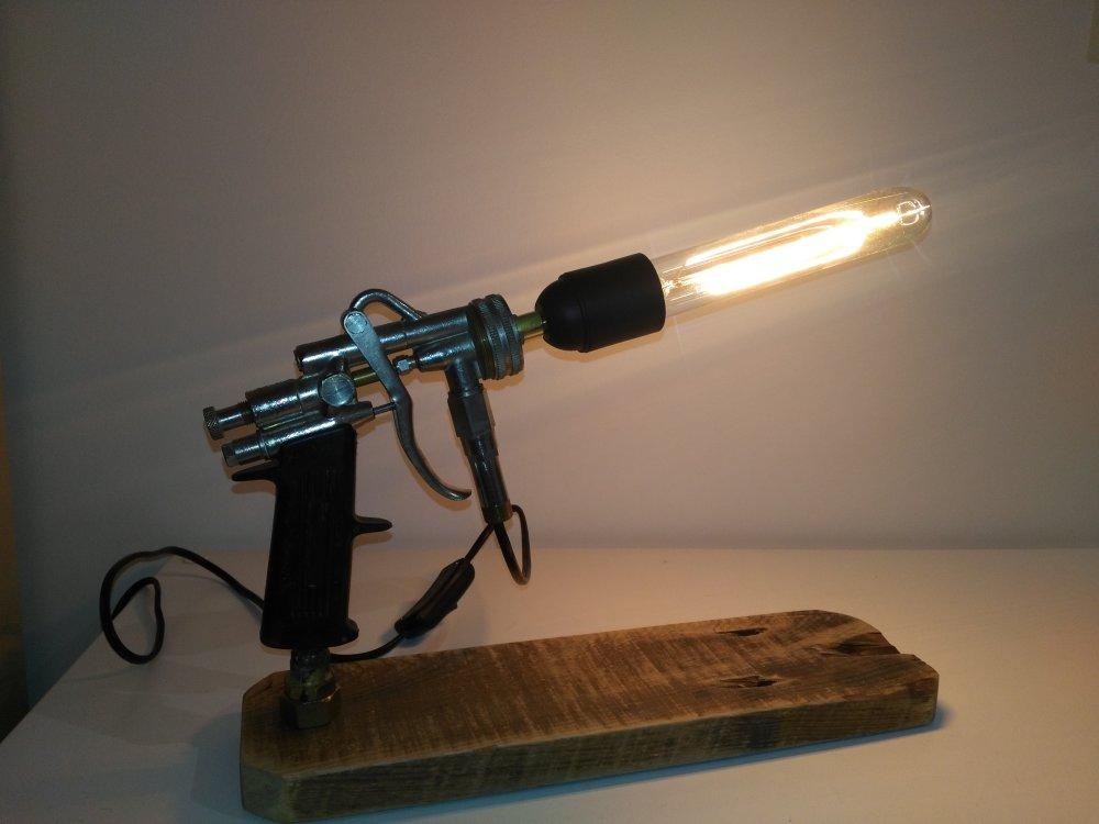 """Lampe d'appoint  """"Pistolet"""""""
