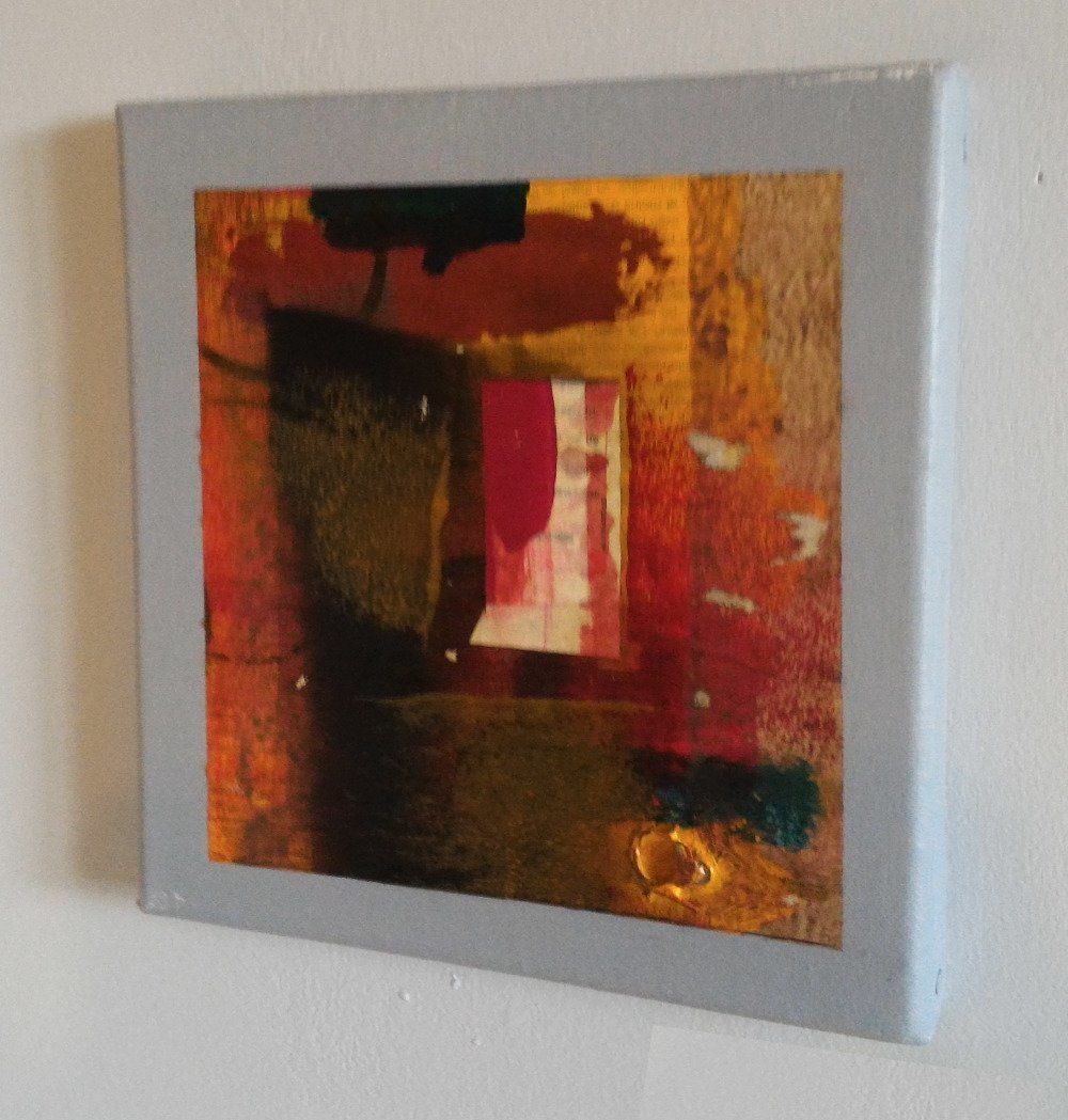 Cadre décoratif abstrait -L019