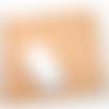 Tapis de souris en cuir tannage végétal motif cheval (orientation paysage)