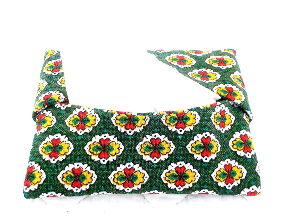 Etui mouchoirs, nomade, sac, création, couture, petit modèle