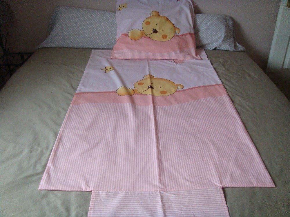 Parure enfant bébé housse de couette et taie d'oreiller