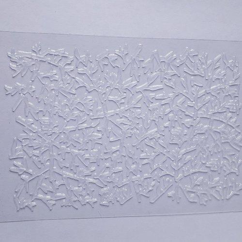 """Plaque de textures """"impression bambou japonais"""""""