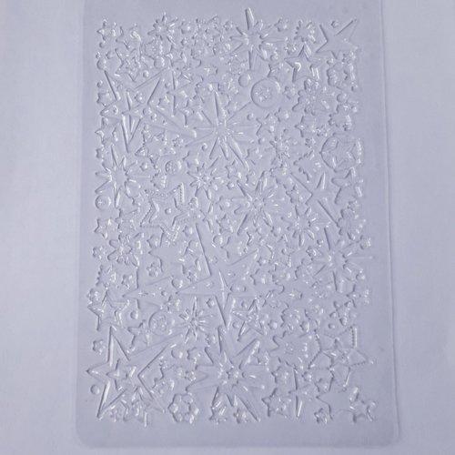 """Plaque de textures """"impression étoile"""""""