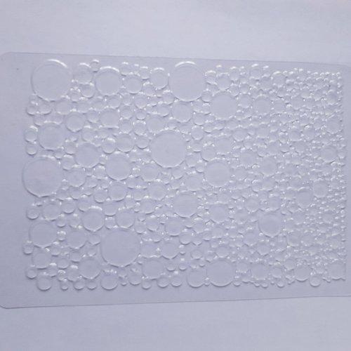 "Plaque de textures ""impression bulles"""