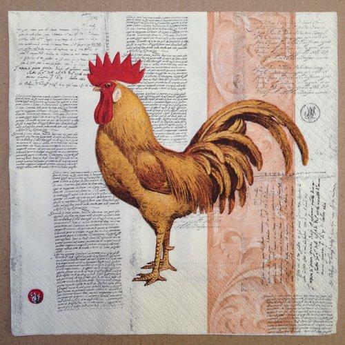 Serviette papier pour serviettage poule