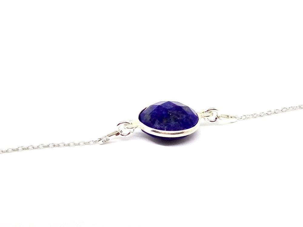 Bracelet STELLA en argent 925 Lapis Lazuli