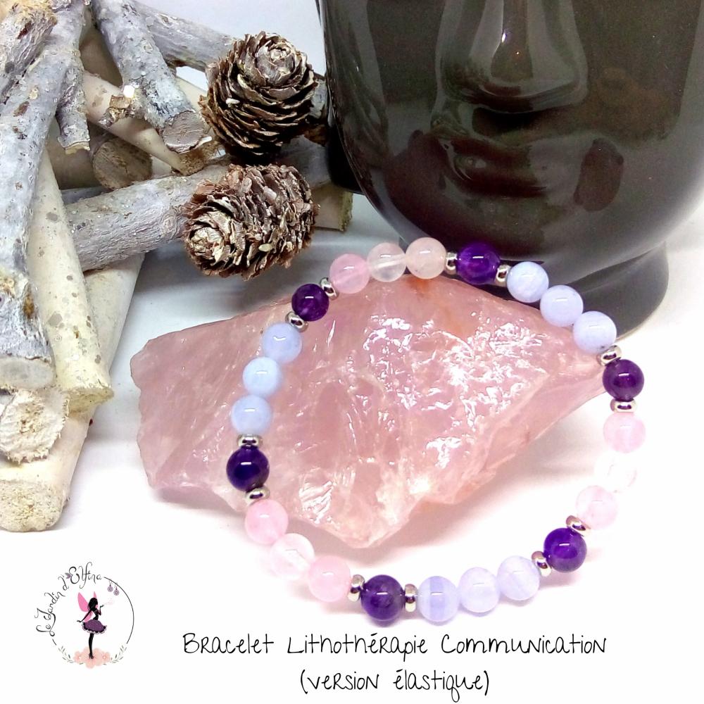 Bracelet Lithothérapie Communication