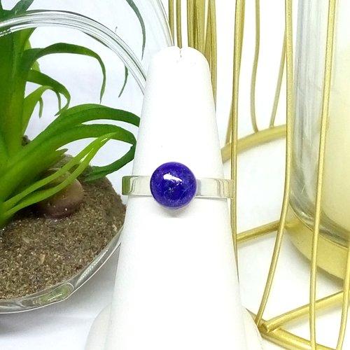 Bague gaïa lapis lazuli