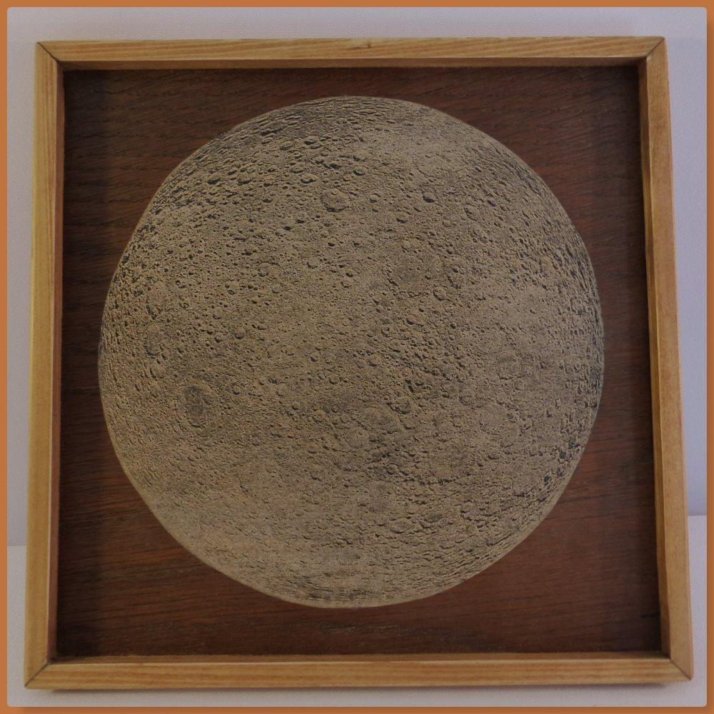 """Petit plateau solo """"Lune"""" , pause café , thé , vide poche, apéritif, déco."""