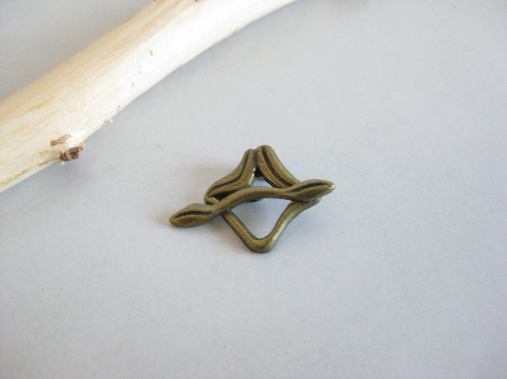 Fermoir toggle - couleur bronze