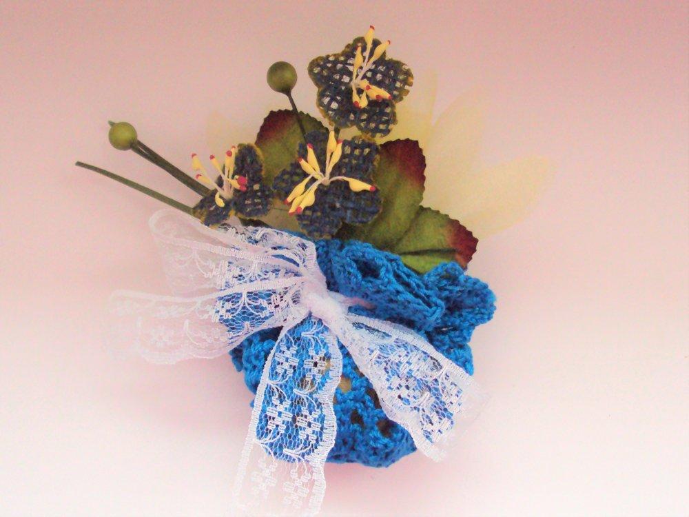 Ballotin, porte dragées pour composition de cadeaux invités, Baptême, Communion, Mariage