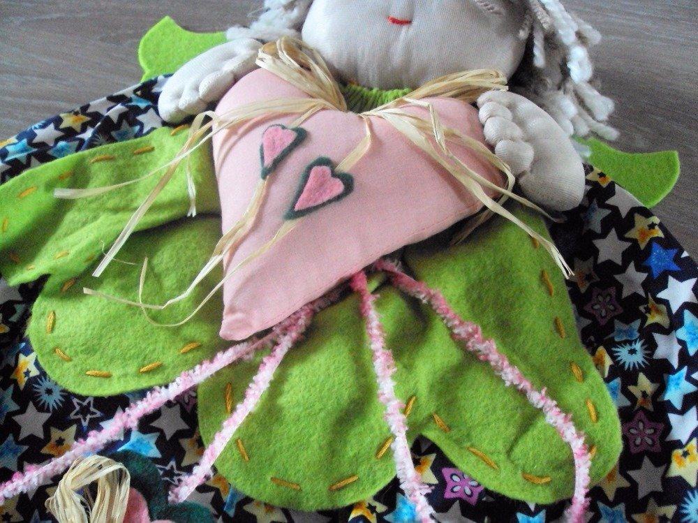 Range pyjama ou doudou, un ange pour petit enfant sage