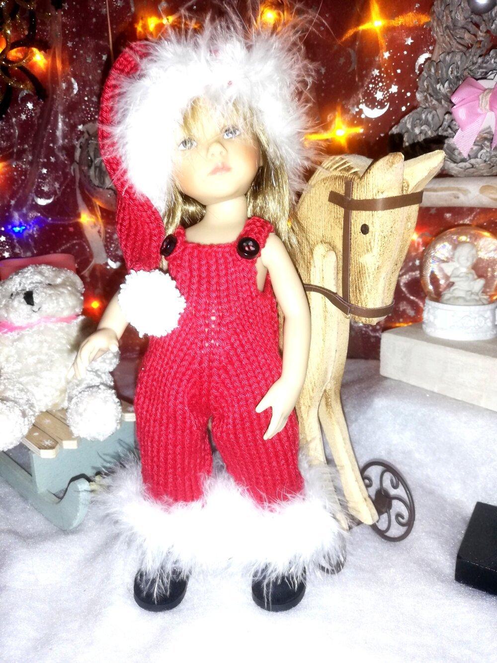 """Tenue/Outfit  """"Oh,Oh,Oh"""", pour poupées """"Boneka"""" ou poupées similaires de 25 cms"""