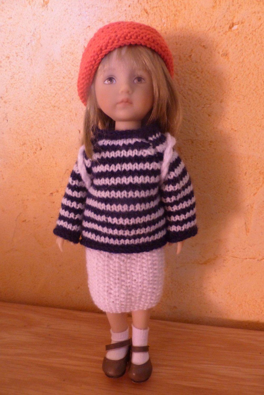 vêtements tenue faite main conçue pour poupée Bonéka