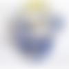 Le coin des affaires! boîte nuage laine feutrée bleu/blanc décoration maison nature zen