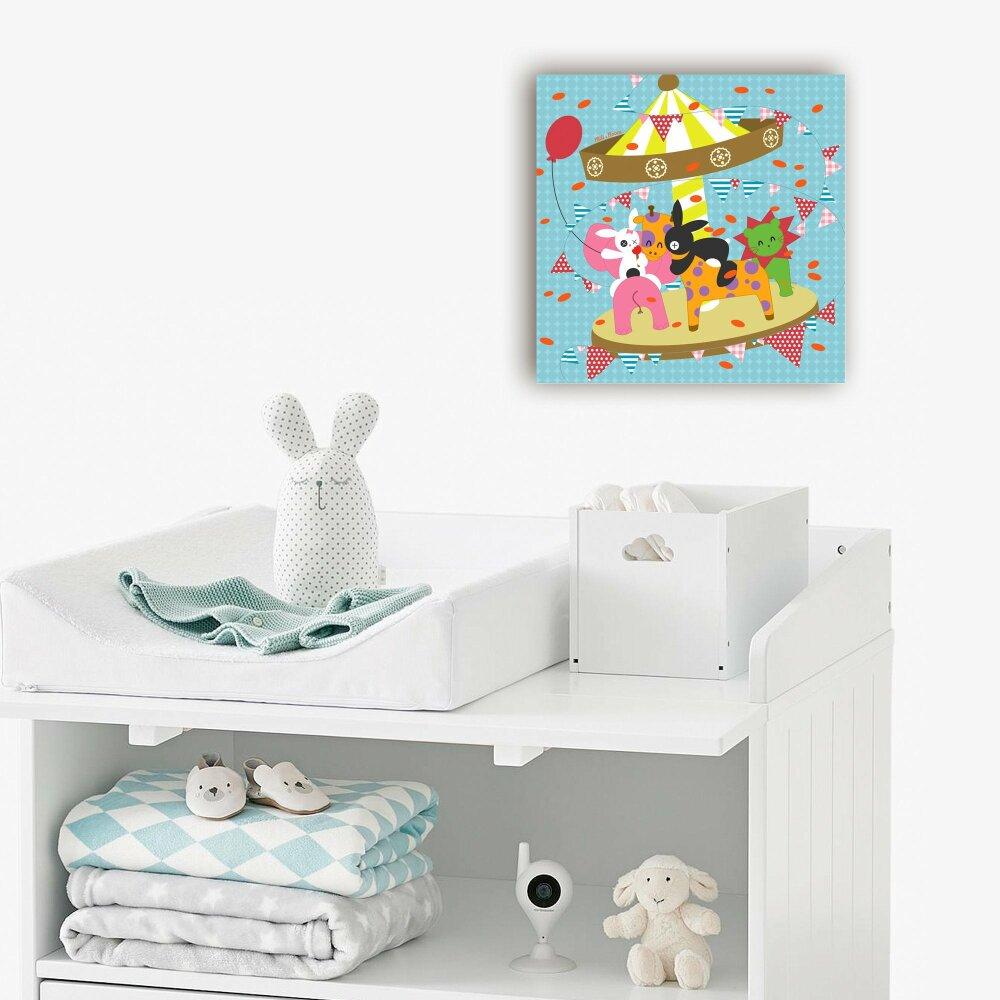 Tableau chambre d'enfant  -Le Manège-