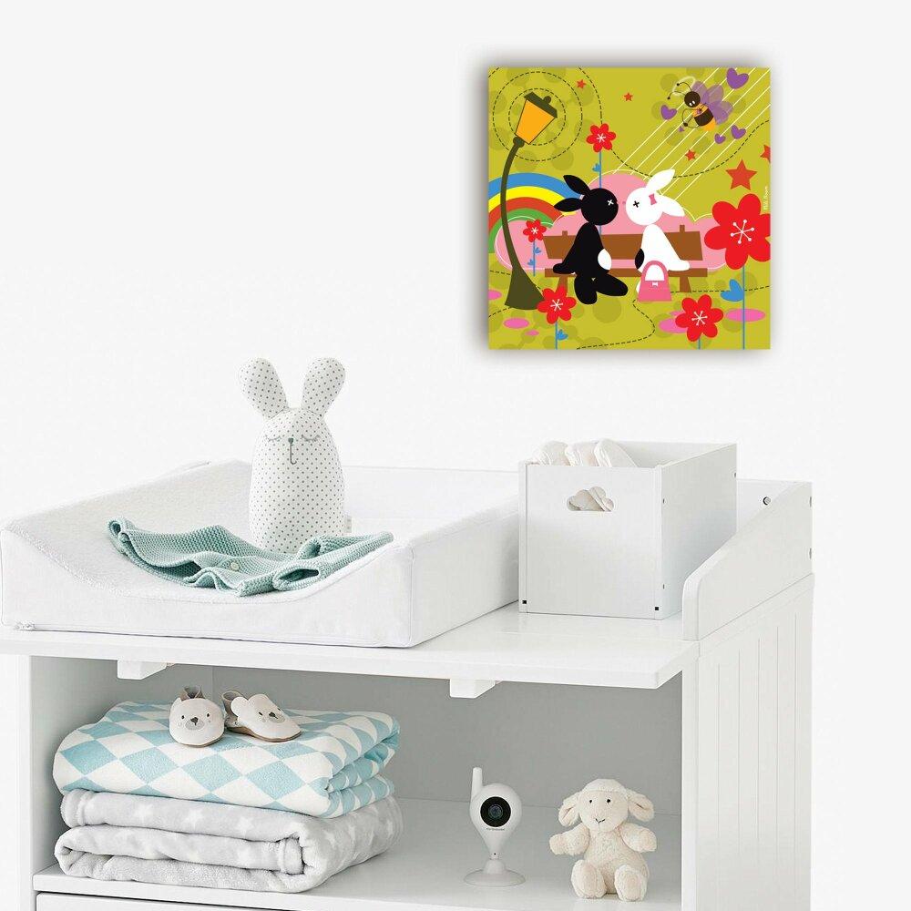 Tableau chambre d'enfant  - Le Banc -