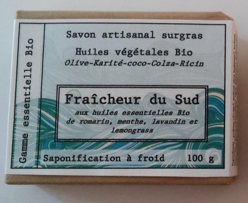 savon 100g  bio  Fraîcheur du Sud