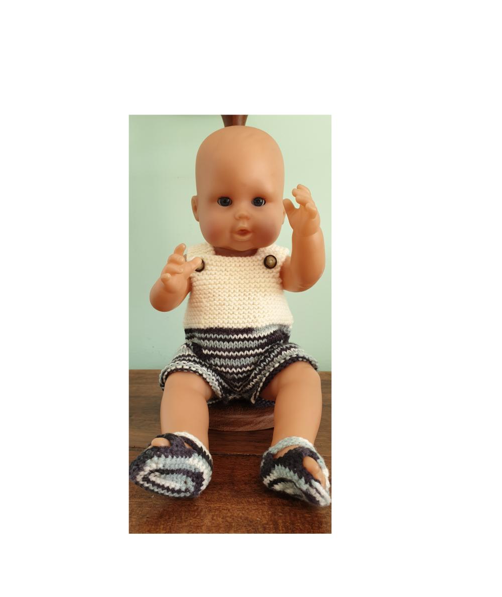 Ensemble pour poupée de 36 cm (Corolle Emma ou autre)