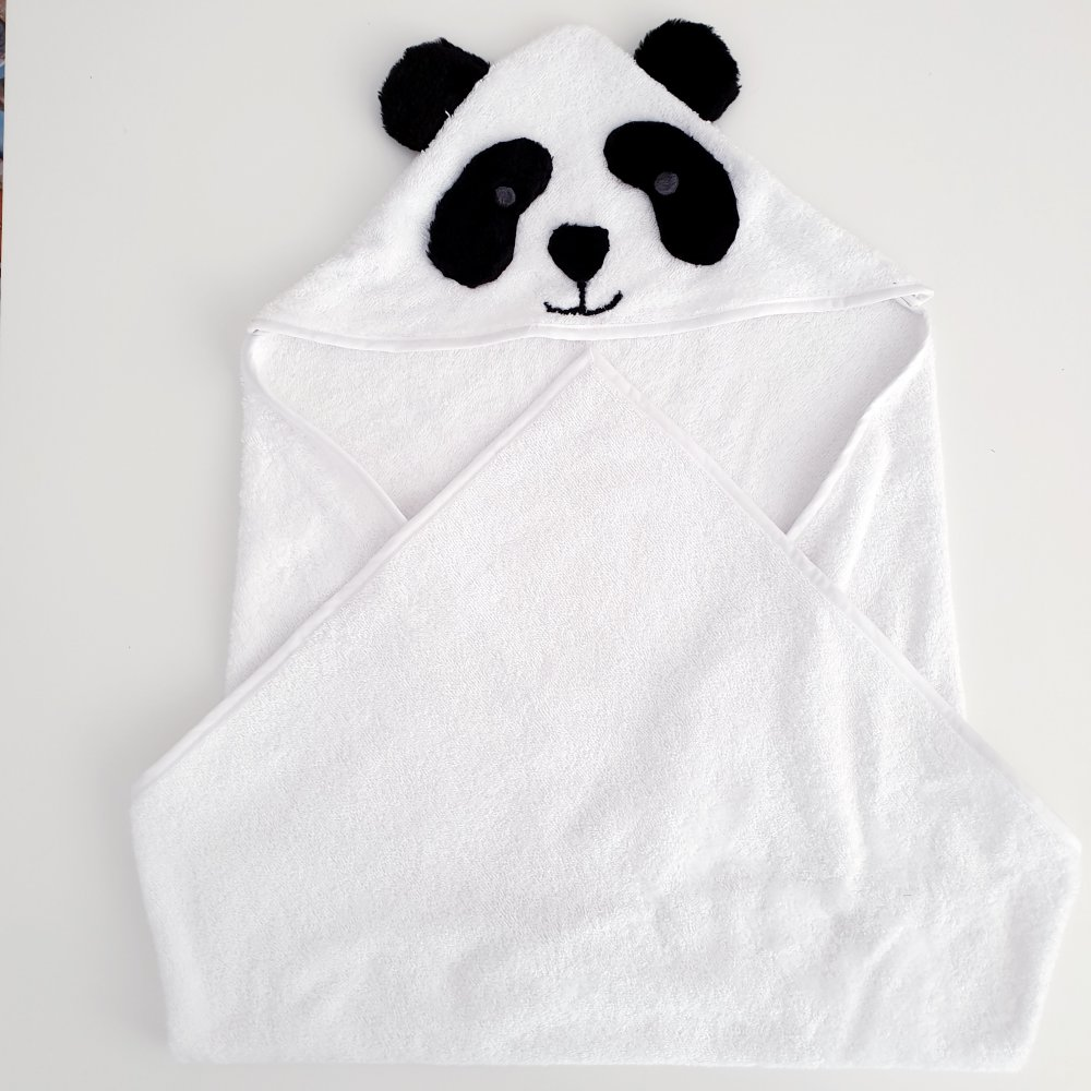 "Sortie de bain ""Amanda le panda"""