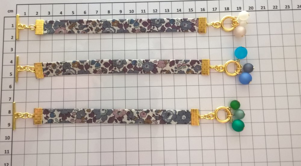 Réservé M-L bracelets Liberty Betsy Ann Figue