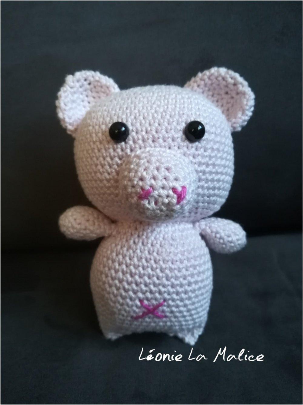 Peluche - Belly le cochon