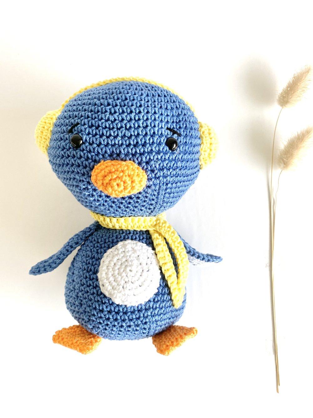 Amigurumi  pingouin