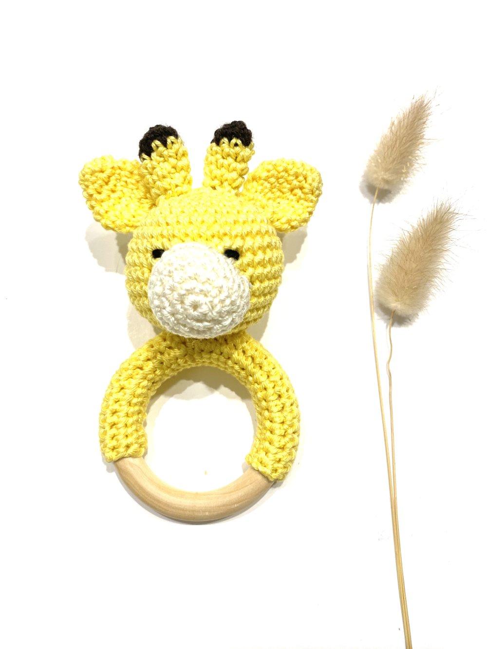 Hochet girafe bébé