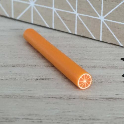 Cane fimo orange fruit