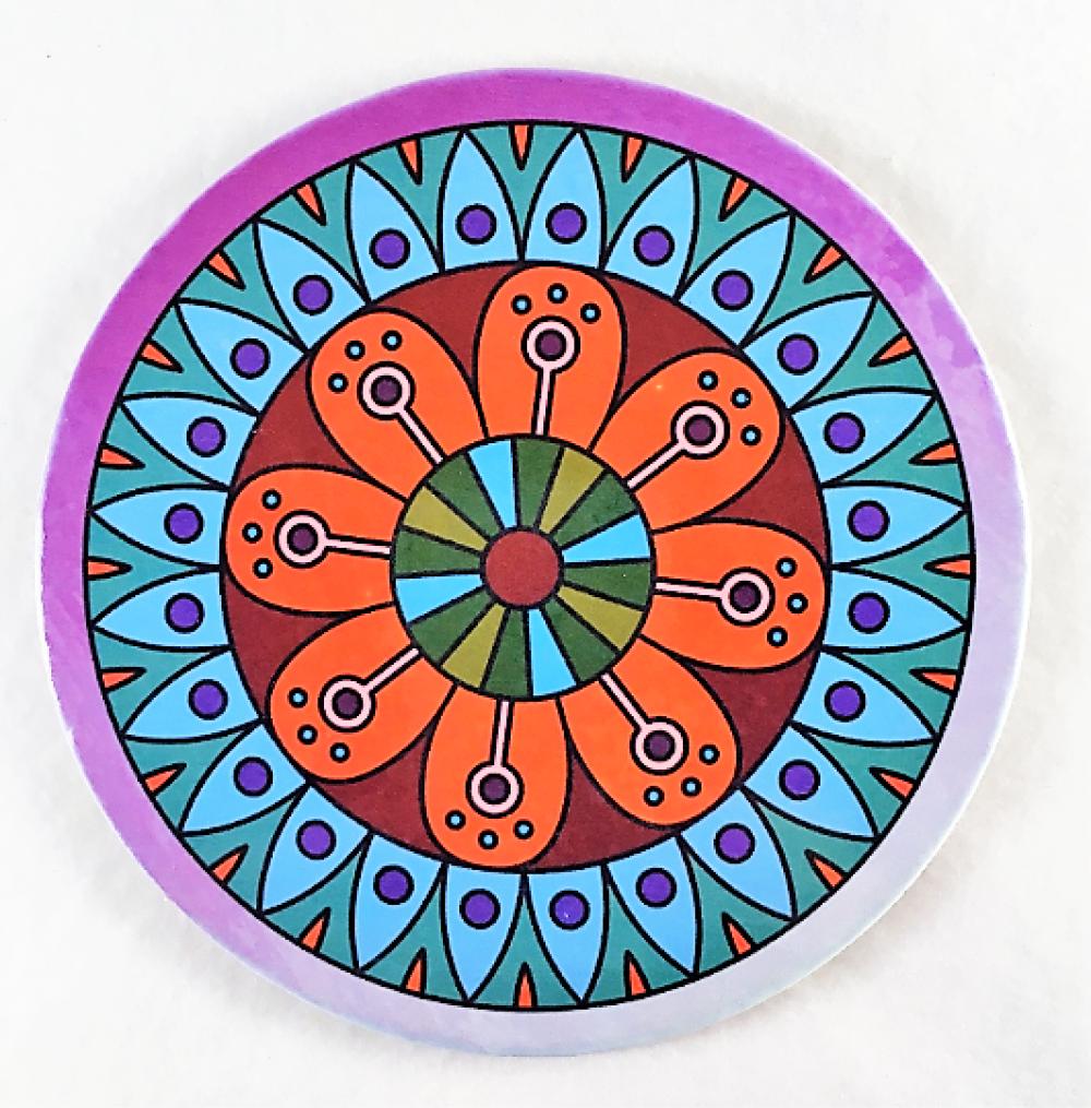 Les 6 Sous Verres -Différents motifs, différents coloris