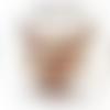 Les 6 sous verres - en liège naturel, forme ronde