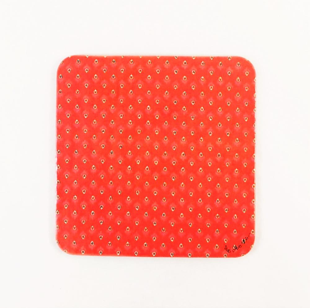 Les 6 Sous Verres - En liège naturel, forme carrée