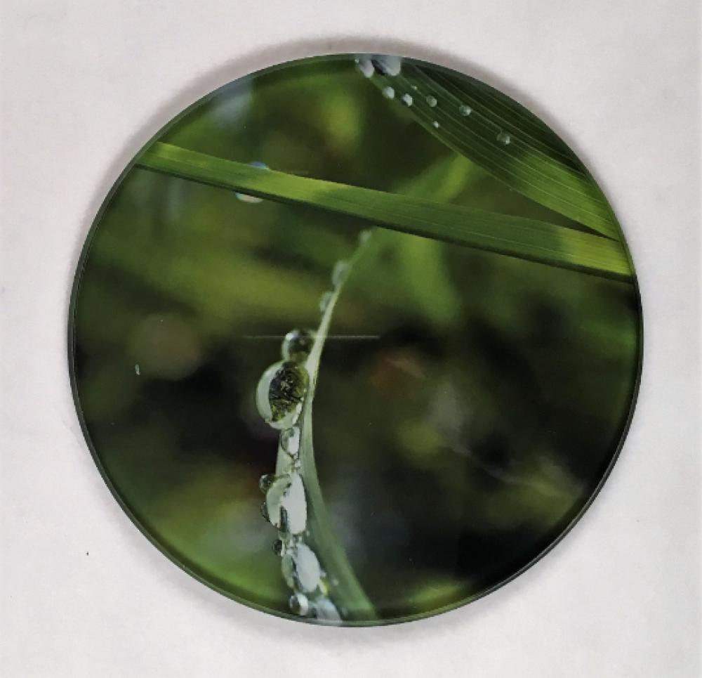 Le Sous Verres à l'unité - En verre, forme ronde