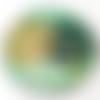 Le sous verres à l'unité - en bois, forme ronde