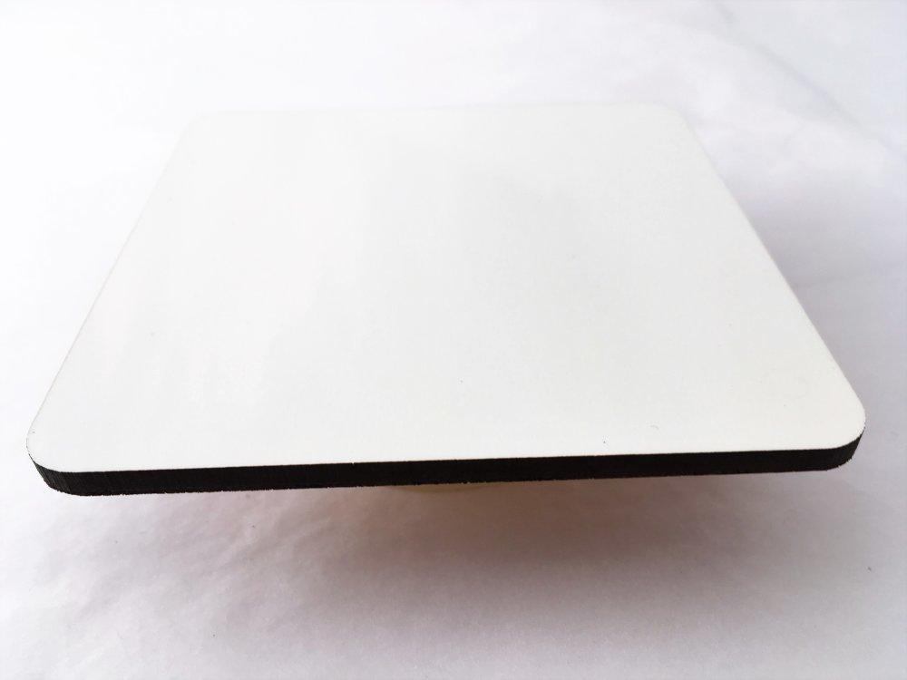 Le Sous Verres à l'unité - En verre, forme carré, 5 mm