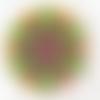 Le sous verre à l'unité - en liège naturel, forme ronde