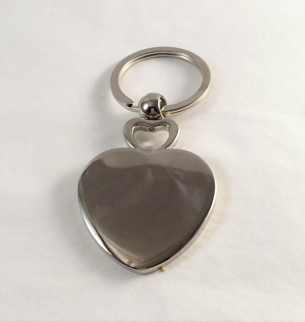 Bijou de sac, Porte clé, coeur