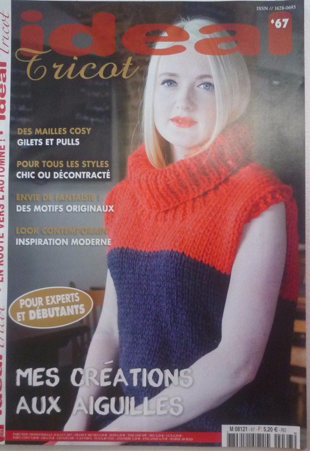 Magazine de tricots IDEAL tricot n° 67