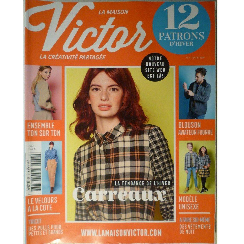 Magazine couture La Maison VICTOR Janvier-Février 2020