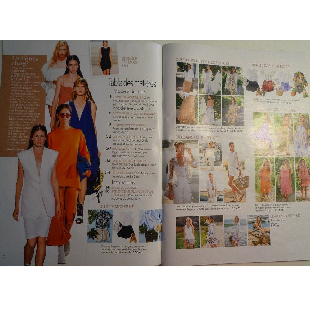 Magazine couture COUTURE ACTUELLE n° 4 spécial - Avril 2020